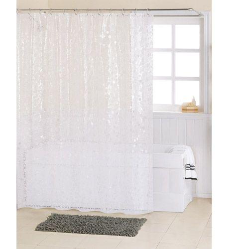 Mainstays Bubbles PEVA Shower Curtain: Bath : Walmart.com