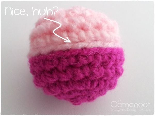Amigurumi How To Change Color : Pin by Gunhild on How to make it Pinterest
