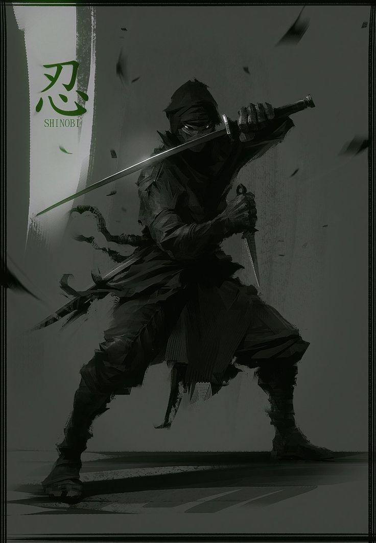 Fantasy ninja art