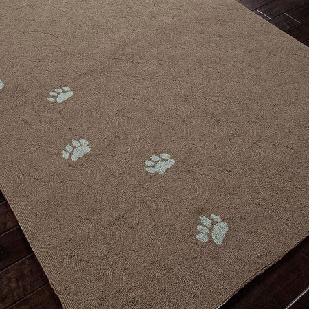 Paw Prints Indoor/Outdoor Rug | Decor | Pinterest