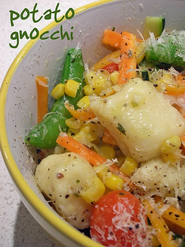 potato gnocchi with summer vegetables | Food Tips and Tricks | Pinter ...