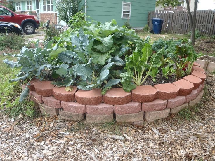 Keyhole garden gardening pinterest for Keyhole garden designs