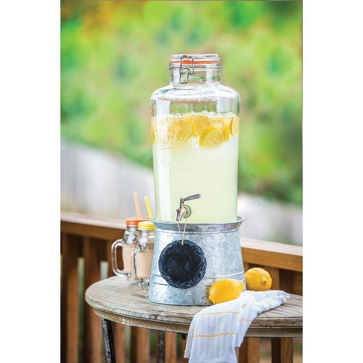 Mason Jar Beverage Dispenser Entertaining Pinterest