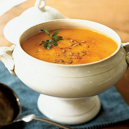 ... smoked paprika pumpkin and yellow pepper soup with smoked paprika