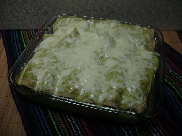Chicken Enchiladas Suizas - recipe also includes how to prepare your ...