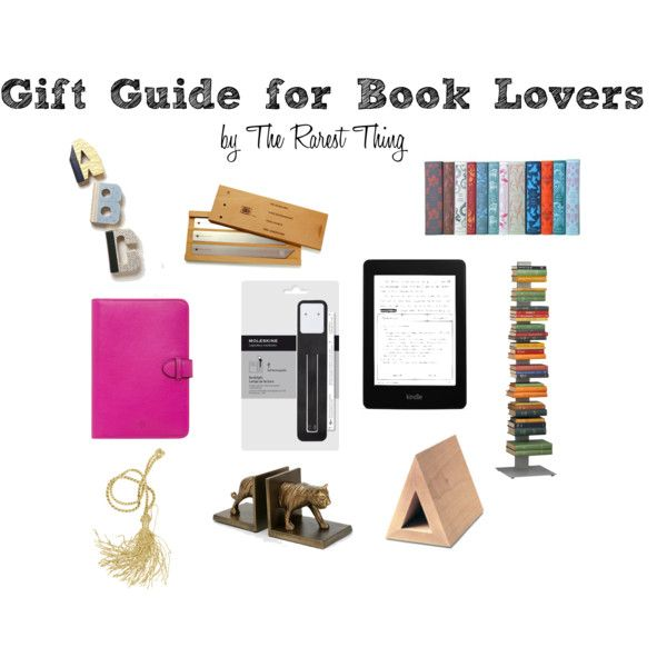 Gift Guide For Book Lovers Giving Pinterest