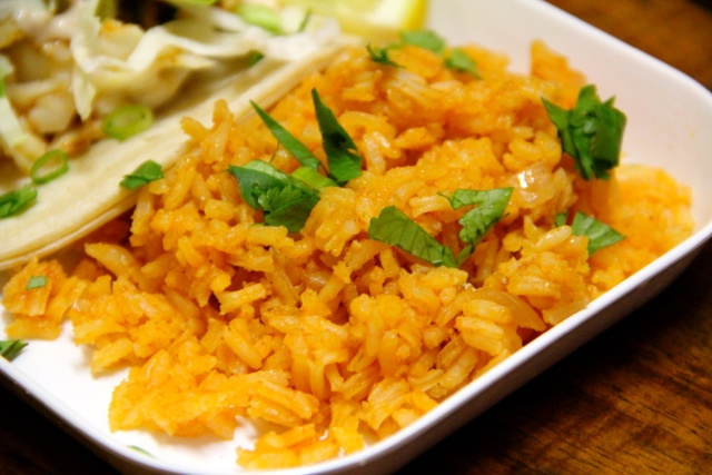 Mexican Rice Serving Size: 4-6 side dish servings * 2T canola oil * 1c ...