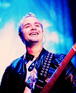 Johnny Christ his smile is infectious too Johnny Christ Smile