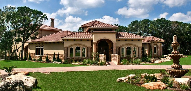 Tuscan homes google search tuscan style homes pinterest for Find custom home builder