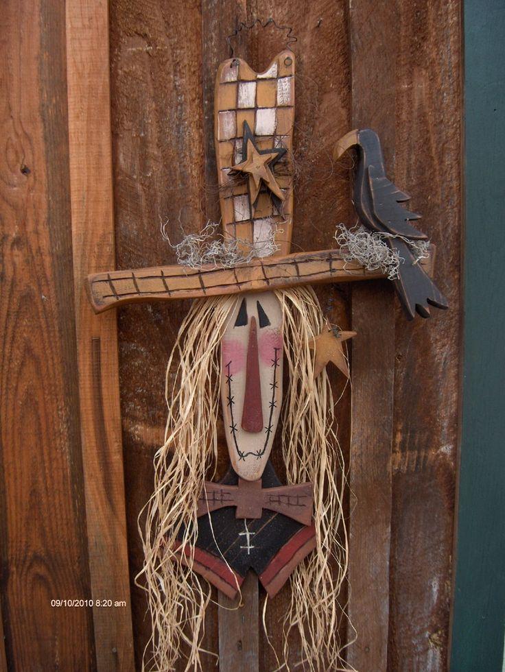 Primitive Wood Crafts - Bing Images | Fall | Pinterest