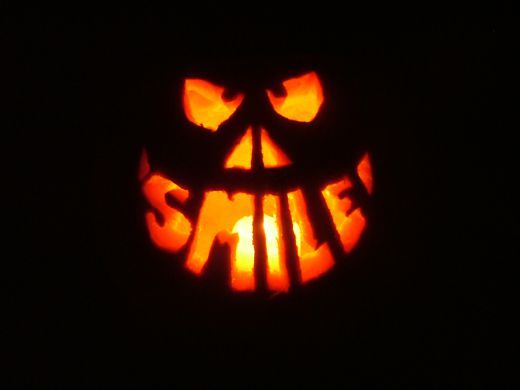 Pumpkin Carving With Power Tools