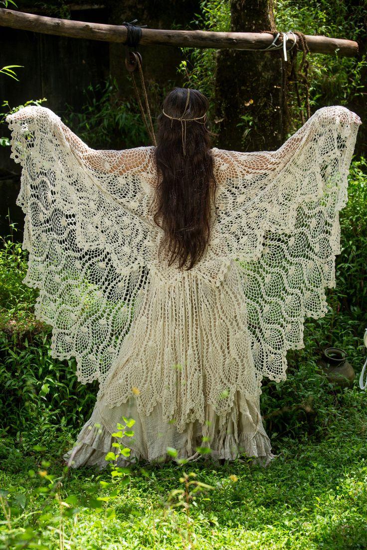 Free Gypsy Vest Crochet Pattern : #crochet #pineapple #lace #shawl #vest Cardi/ Sweater ...