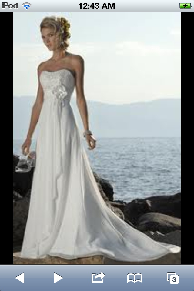 Wedding dresses beach pictures