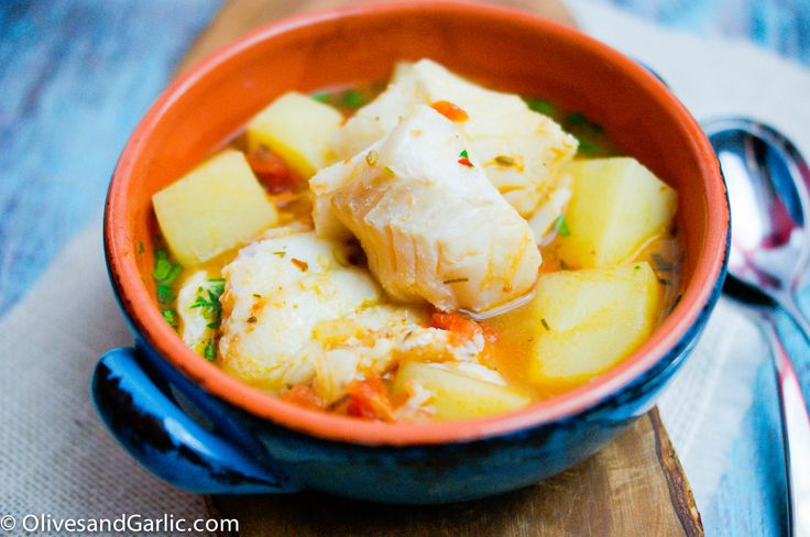 Cod stew | seafood recipes | Pinterest