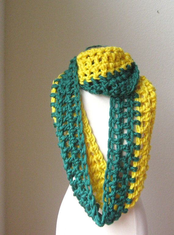 gift for him green bay packers chunky scarf winter fashion