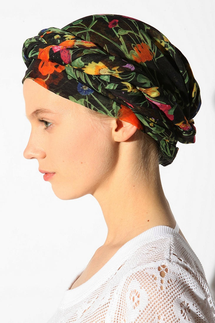 Head scarf - no pattern | Chemo hats & turbans | Pinterest