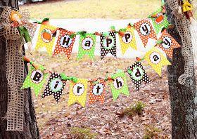 Amanda's Parties TO GO: Little Pumpkin Party Set