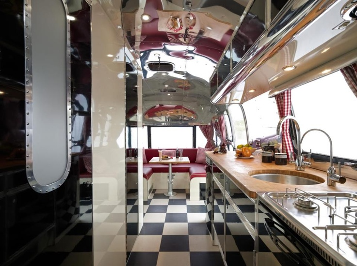 Retro Airstream Interior Dreams amp Airstreams Pinterest