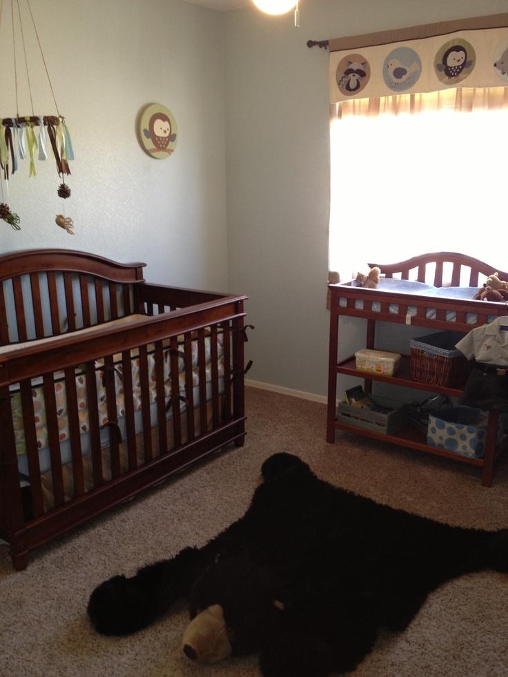 rustic nursery baby wasson pinterest