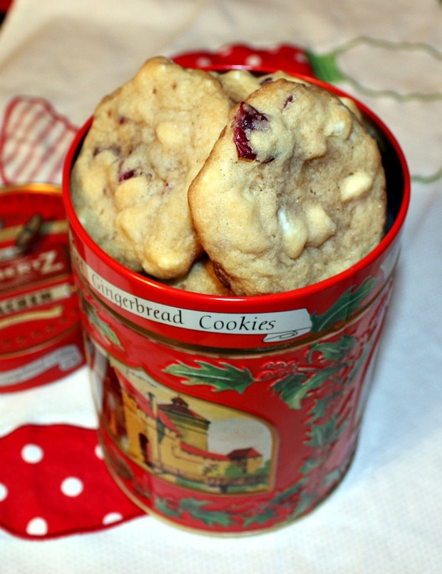 Recipes For Divine Living: White Chocolate Cherry Chunk Cookies
