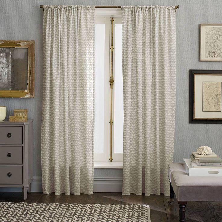 Nate Berkus curtains | Beautiful Bedrooms | Pinterest