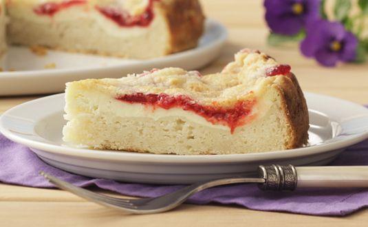 Strawberry Swirl Cheesecake – worth every delicious bite!