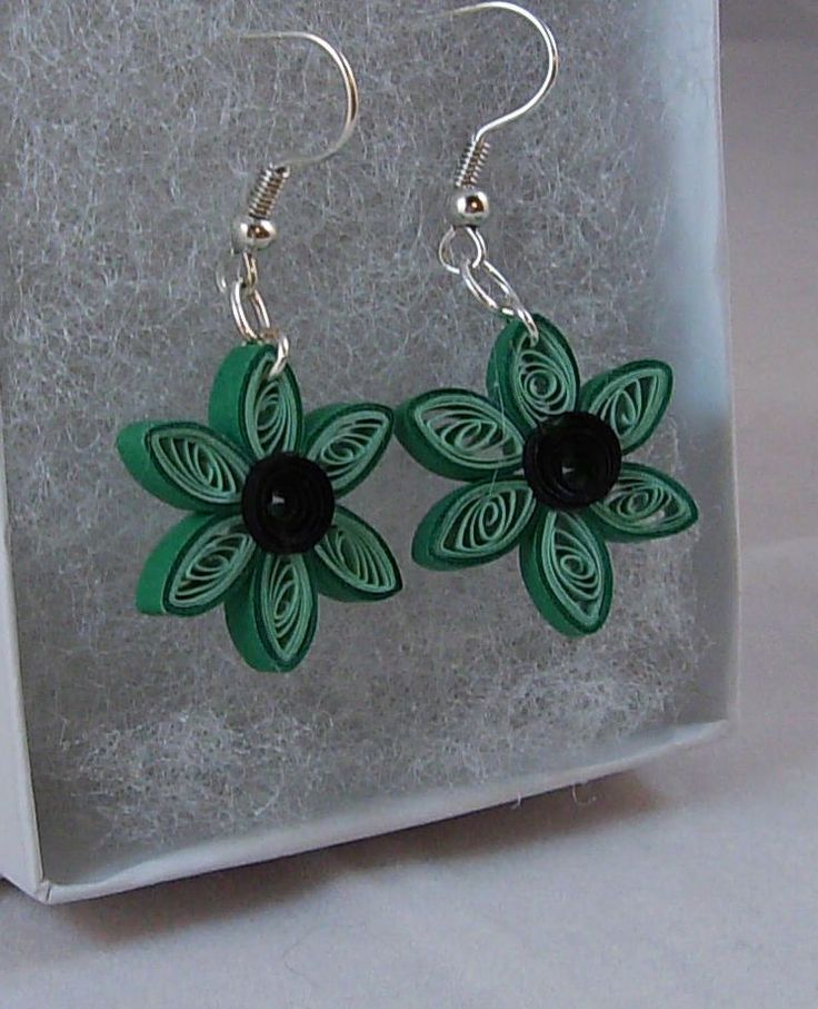 Quilling Earrings Designs Images : quilling earrings Craft Ideas Pinterest