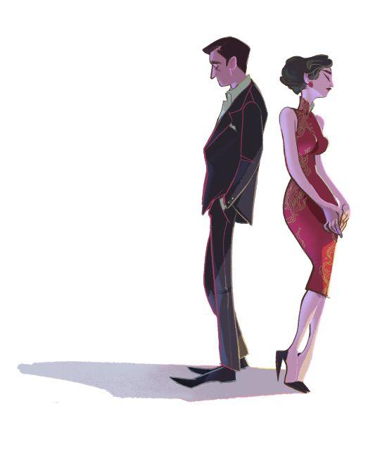 In the Mood for Love | Illustrator: Leslie Hung