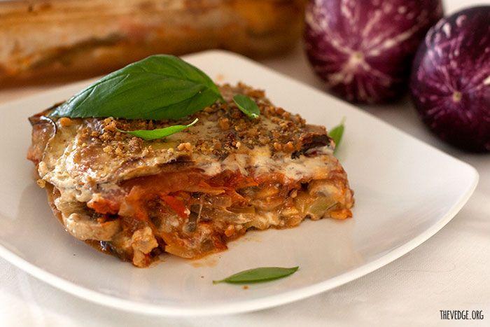 Eggplant Lasagna (Gluten Free, Vegan, Soy Free, Dairy Free, Corn Free ...
