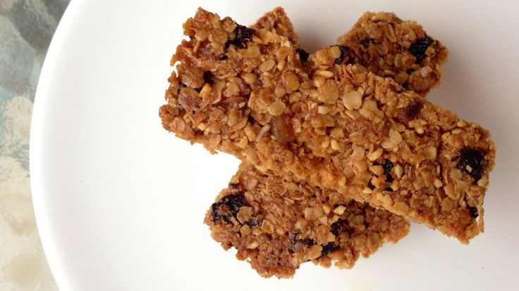 ... Gluten free Dairy Free oat bars with coconut oil and other goodies