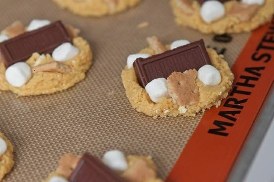 Peanut Butter S'mores Cake Cookies Recipes — Dishmaps