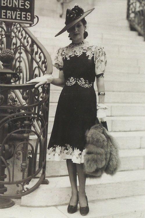 ~So terrifically chic~ 1940s fashion