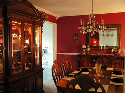 burgundy dining room deep wine burgundy decor pinterest