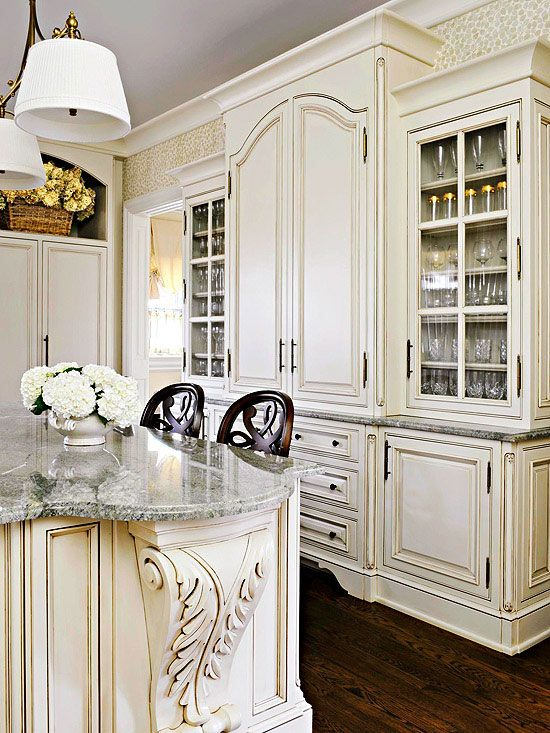 Cottage French Country Kitchen Pinterest