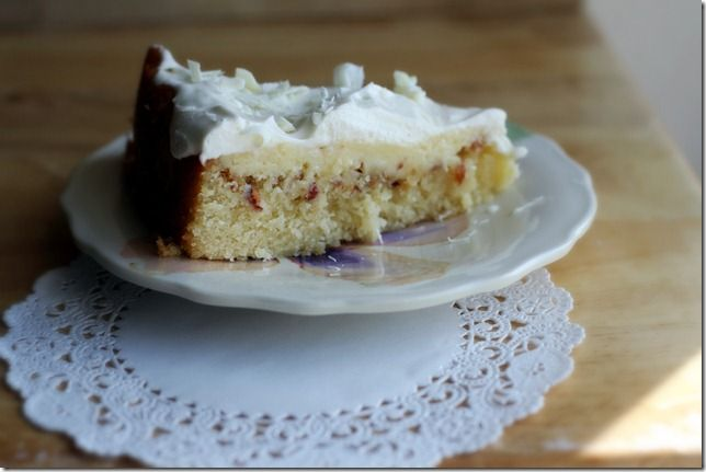 Almond Torte - A perfect spring treat: a light, not-too-sweet cake ...