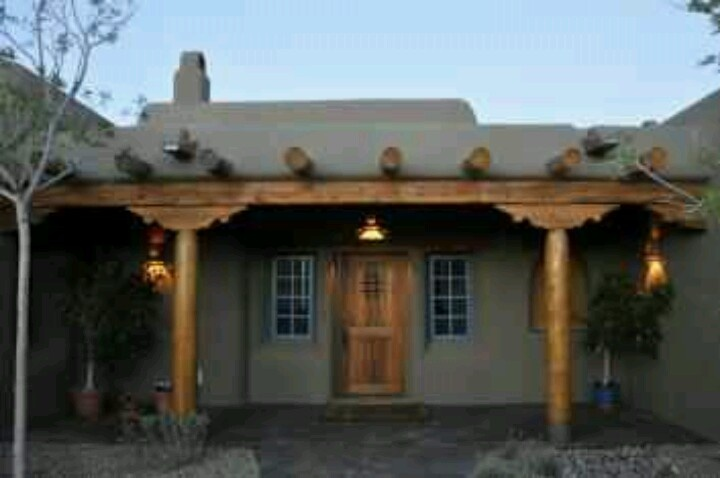 Pueblo style home love this homes exterior pinterest for Pueblo home builders