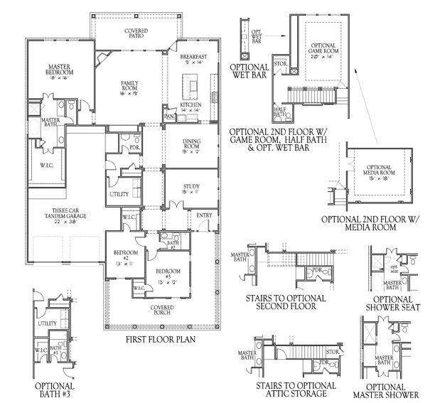 Floorplan Newman Village Darling Homes Floor Plans