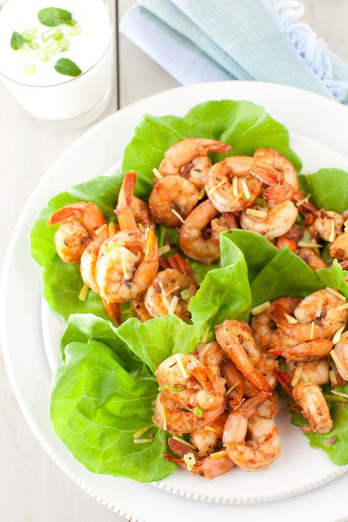 Hot and Juicy Shrimp with Spicy Garlic and Ginger Sauce at Cooking ...