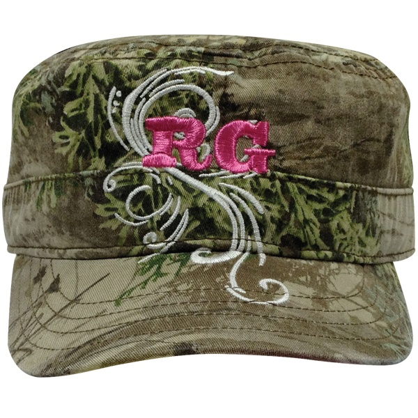 Realtree Girl Military Style Cap