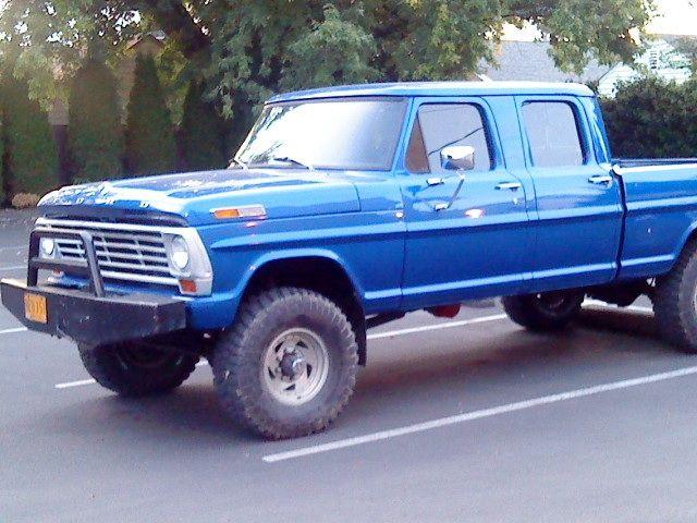 1969 ford f250 highboy crew cab. | cars n trucks | Pinterest