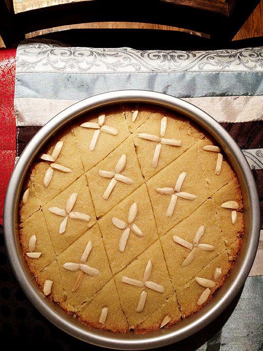 Sweet Semolina Cake with Lemon & Rosewater | Basboosa | Recipe