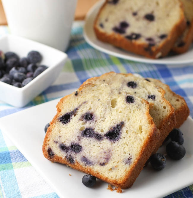 Blueberry Pound Cake Recipe — Dishmaps