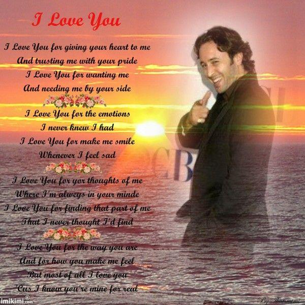 Love You Poem!   IMIKIMI ALEX   Pinterest