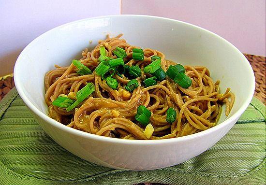 Garlic Peanut Sauce & Soba Noodles | Recipes & Ideas | Pinterest