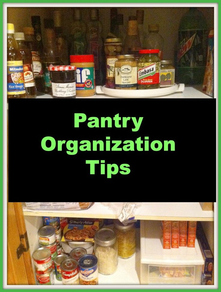 kitchen pantry organization organize me pinterest
