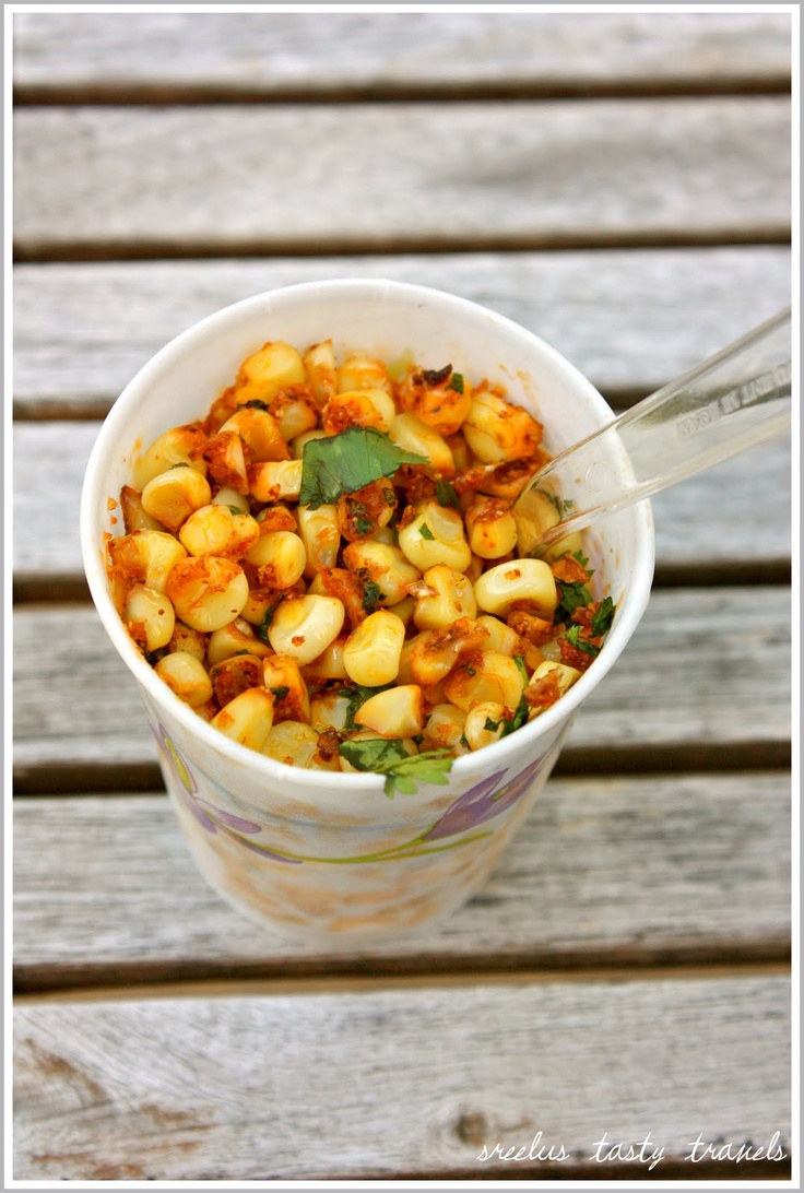 Spicy Roasted Corn with Taco Flavored Butter infused with Cilantro and ...