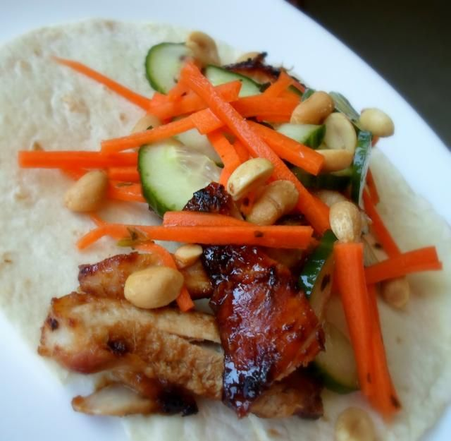 Thai Chicken Tacos | winner winner chicken dinner | Pinterest