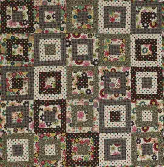 Chocolate and Jelly Beans Kids Quilt