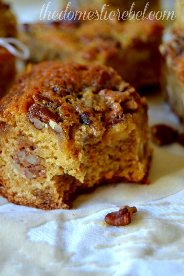 pecan pie blondies | Desserts and Sweets | Pinterest