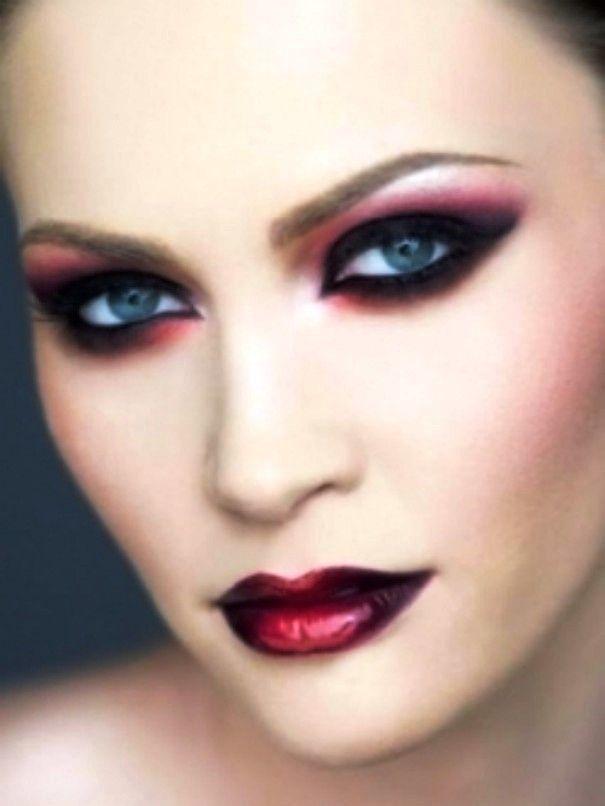 Vampire-girls-makeup-19 | Theatrical Makeups | Pinterest